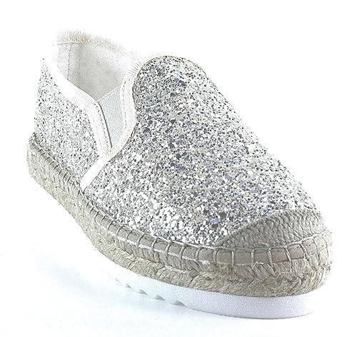 Vidorreta - Alpargatas de Lona para mujer Dorado dorado, color Dorado, talla 36 EU: Amazon.es: Zapatos y complementos