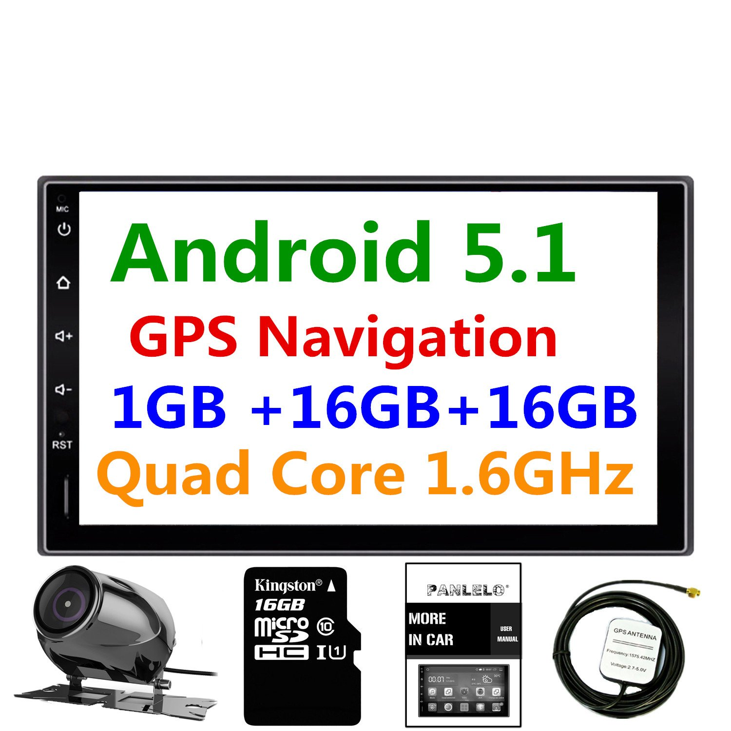 710Fwq6gxkL._SL1500_ amazon com panlelo pa09yz16, 7 inch double din car stereo android panlelo wiring diagram at creativeand.co
