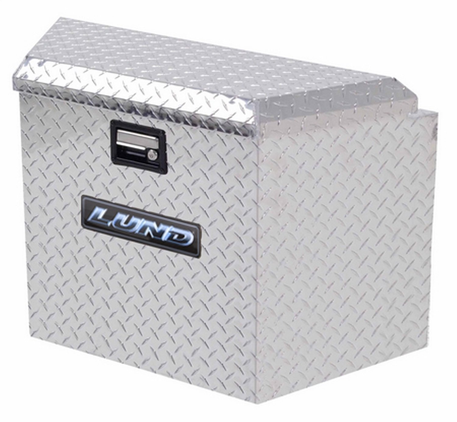 Silver Diamond Plated Lund//Tradesman 6120 16-Inch Aluminum Trailer Tongue Truck Box