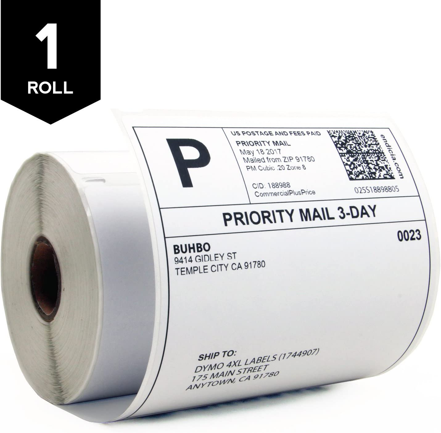 10 Rolls For DYMO LabelWriter 4XL 4x6 Thermal Shipping Label 1744907 220//Roll