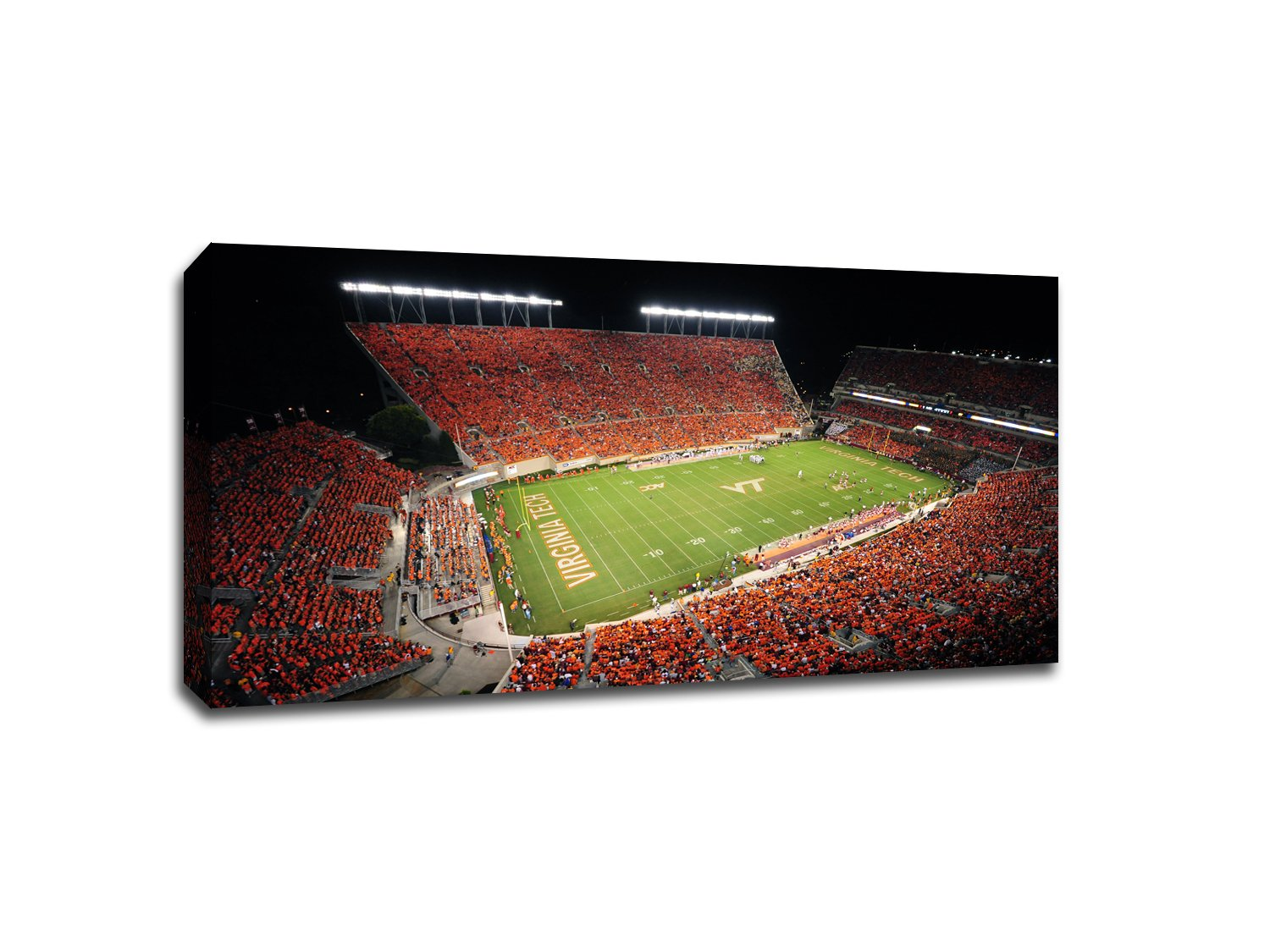 Virginia Tech Hokies - College Football - 40x22 Gallery Wrapped Canvas Wall Art