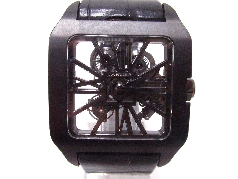 Cartier Santos-Dumont Skeleton Watch, Skeleton Watches, Distinct Watch, Square Watch