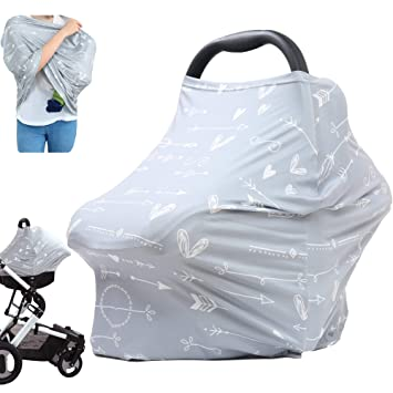 Nursing Cover Car Seat Covers Infant Stroller Cover Baby Breastfeeding Cover