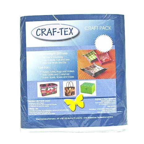 Amazon.com: Bosal Craf Tex no tela Sew en 20 x 36 Paquete ...