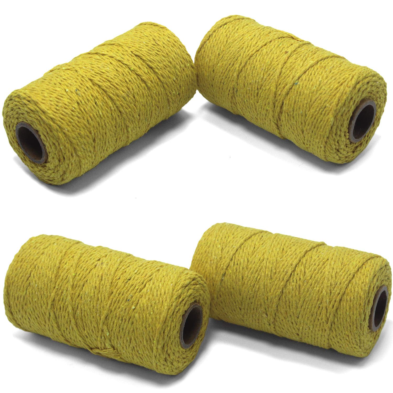 100M Colorful Cotton Thread Rope Bakers Twine DIY Sewing Packaging Supplies