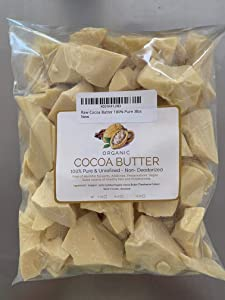 Raw Cocoa Butter 100% Pure 3lbs
