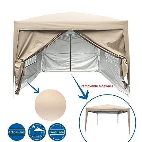 Peaktop 10 Feet x10 Feet EZ Pop Up Canopy Multifunctional tent C&ing tent /Party tent  sc 1 st  Amazon.com & Amazon.com: Peaktop 10 Feet x10 Feet EZ Pop Up Canopy ...