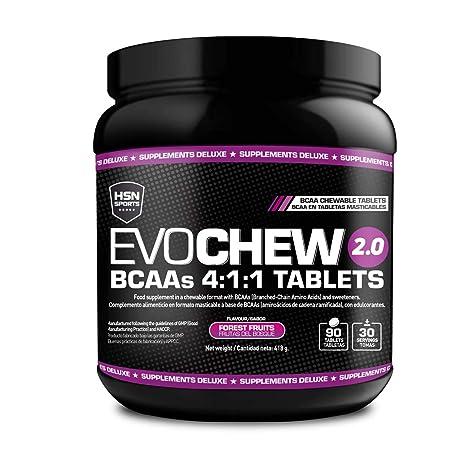 BCAA Masticables de HSN Sports - Evochew 2.0 - Aminoácidos Ramificados 4:1:1