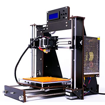 Impresora 3D, Win tinten i3 Alta precisión Unassembled Desktop Impresora 3D sin ensamblar Kit de bricolaje con pantalla LCD 1.75mm PLA / ABS Filament ...