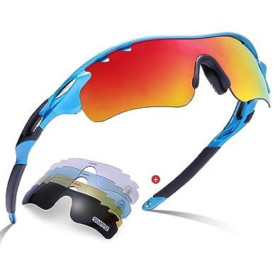 Gafas de sol deportivas-Carfia UV400 Protección Gafas de sol polarizadas para Bicicleta Acampada Golf