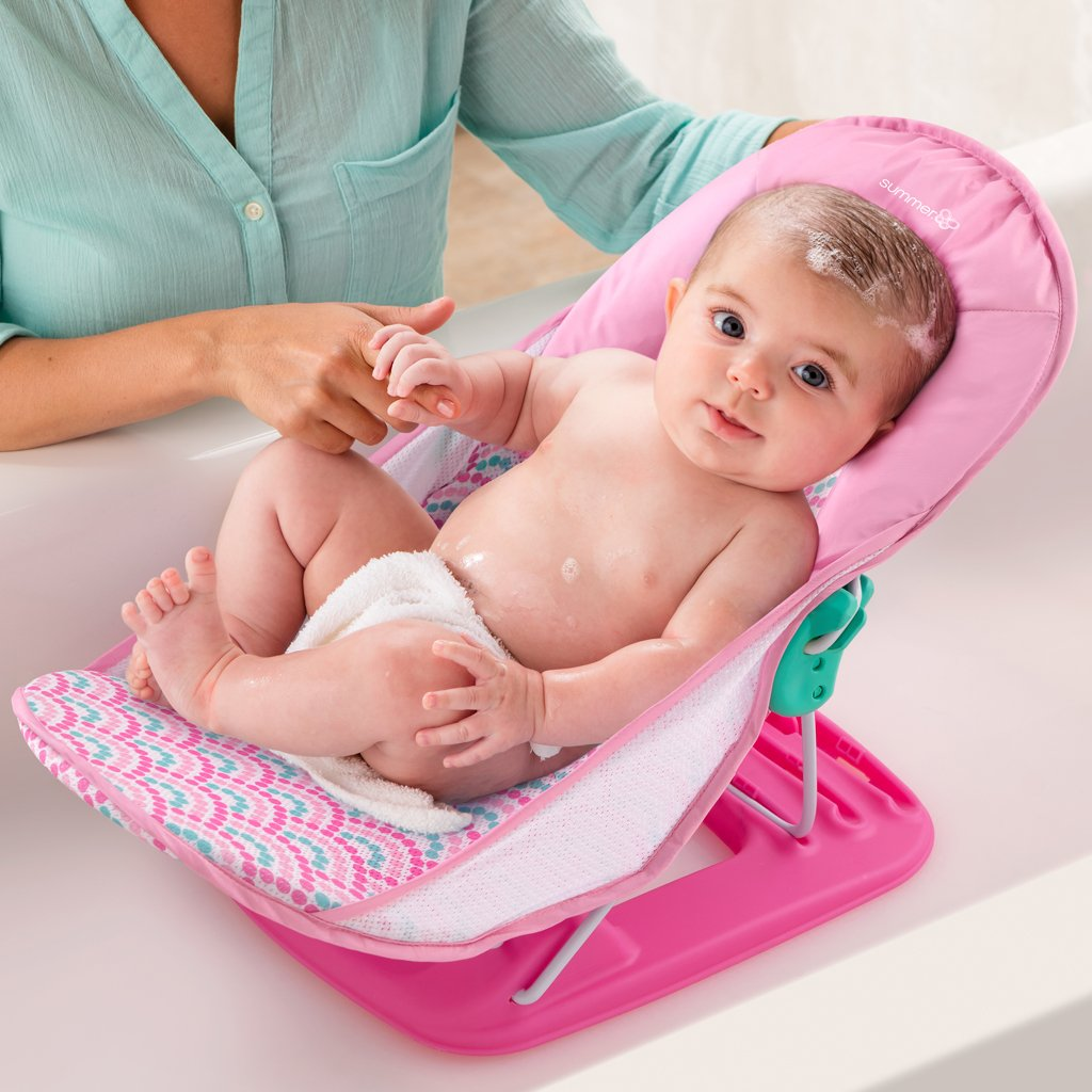Summer Infant Deluxe Baby Bather-Bubble Waves
