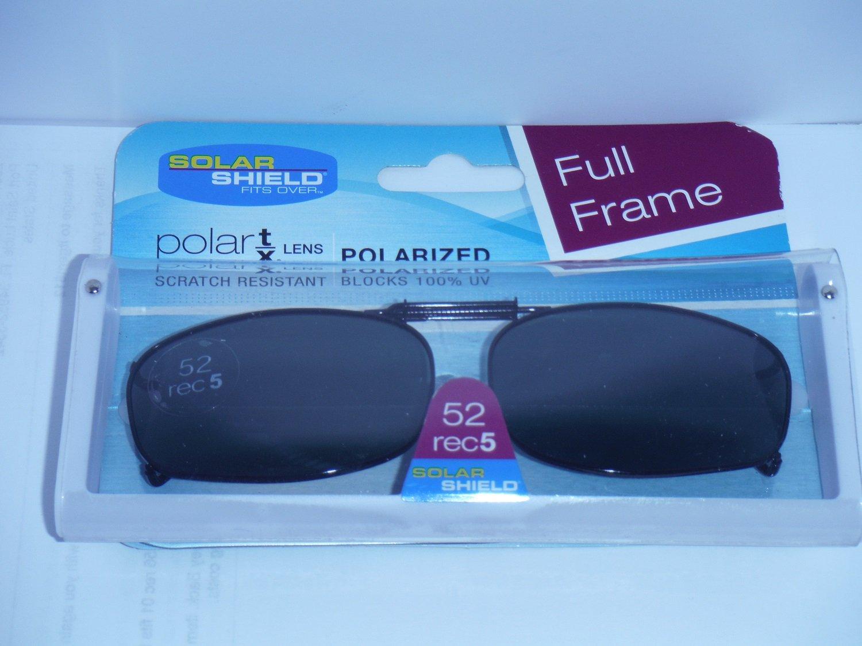a089bb978c Amazon.com  Solar Shield Polarized Clip On Full Frame Sunglasses 52 Rec 5   Health   Personal Care