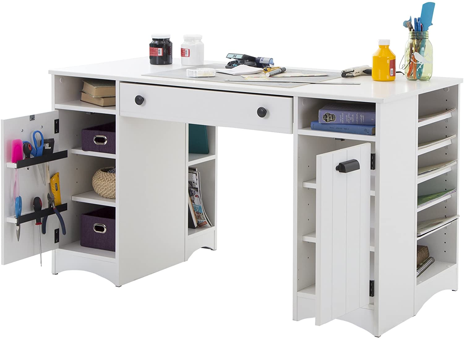 Ultimate Buying Guide For Best Craft Table With Storage Crfatwizz