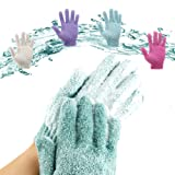 Amazon Price History for:YEAR-END DEALS-4 Pair Exfoliating Bath Gloves Double Side Durable Face and Body Scrubber Nylon Shower Gloves for Men and Women