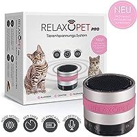 RelaxoPet PRO Entspannungsgerät | Version für Katzen | Beruhigung durch Klangwellen | Ideal bei Gewitter, Alleinsein oder auf Reisen | Hörbar und unhörbar