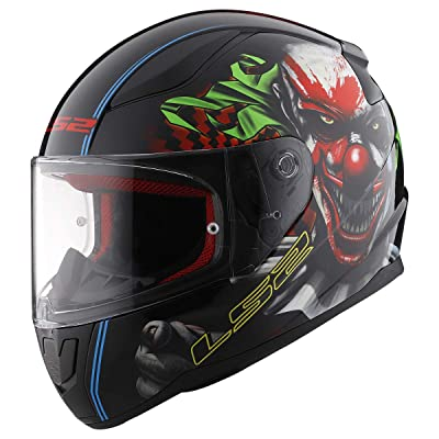 LS2 Helmets Full Face Rapid Street Helmet (Happy Dreams - X-Large): Automotive [5Bkhe0103445]