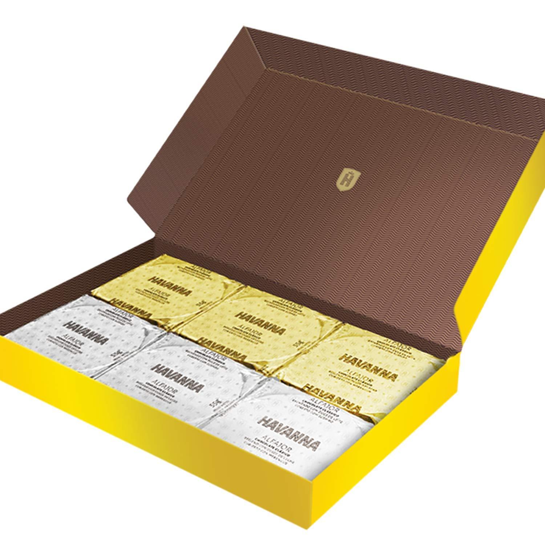 Amazon.com : HAVANNA Alfajores Gift Variety Pack | 18 alfajores | 1 box of dark & White chocolate, 1 box of meringue and 1 box of dark chocolate and ...