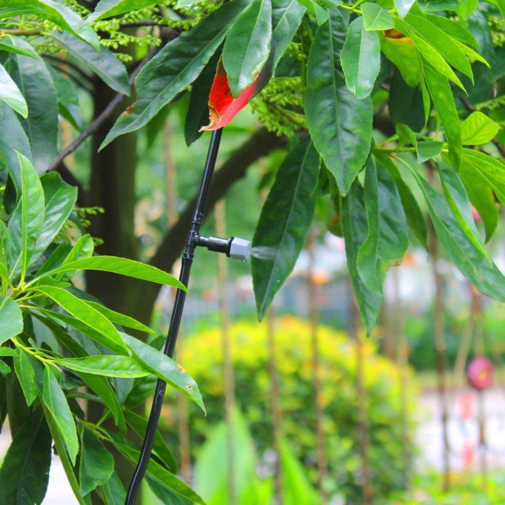 Kungfu Mall 10m 33ft jardinage plante patio de syst/ème dirrigation goutte /à goutte micro de pulv/érisation microarroseur kit de refroidissement