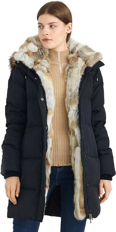 Escalier Chaleco de Piel sint/ética para Mujer Abrigo de Invierno Abrigo sin Mangas Chaleco con Bolsillos c/álido