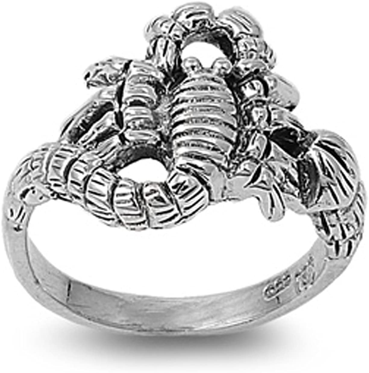 STERLING SILVER RING SPIDER 925 NEW SIZE 5-11 NEW