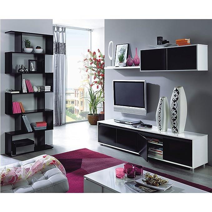 Habitdesign 0F6663A - Mueble de salón Moderno, modulos Comedor Alida ...