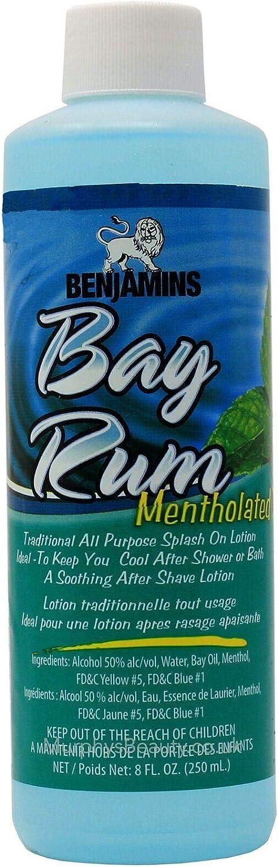 Benjamins Bay Rum Mentholated