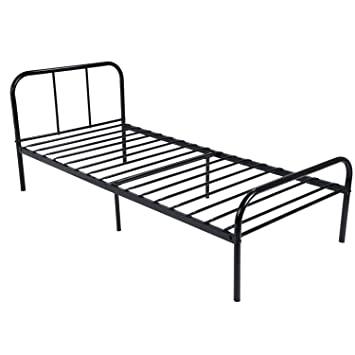 Amazoncom GreenForest Twin Size Bed Frame Stable Metal Slat