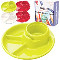 POBEES Reusable Party BBQ Plastic Plates