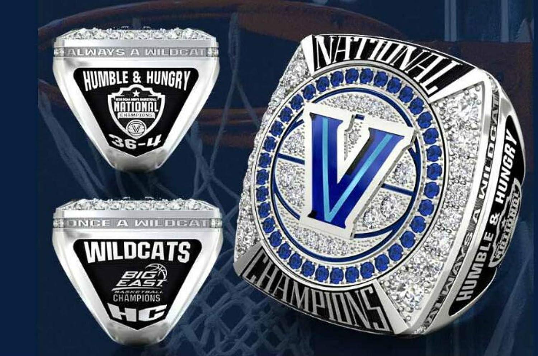 YIYICOOL 2018 Villanova University Mens Basketball National Championship Ring Size 11
