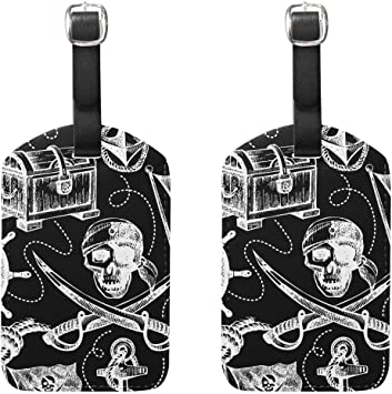 Anchors Cruise Luggage Tag For Suitcase Bag Accessories 2 Pack Luggage Tags