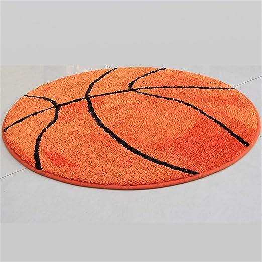 CARPET Jack Mall- Baloncesto Almohadilla Redonda Sala de Estudio ...