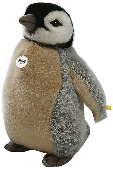 Amazon.com: Steiff Studio bebé pingüino, gris/marrón: Baby