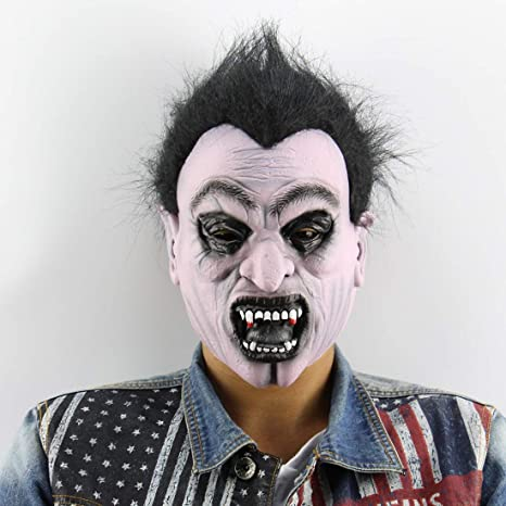 Party Masks - Party Latex Horror Masks Realistic Costume Cosplay Mascaras Para Fiestas - Lace Capes