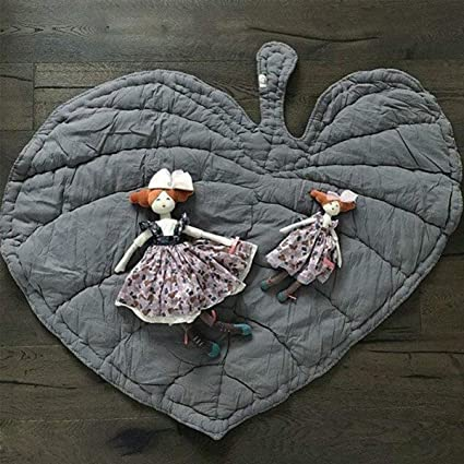 Gorei Flower Shape Carpet Floor Mat Soft Padded Baby Kids Activity Play Mat Crawling Blanket Rug Non-slip Cushion Home Decoration