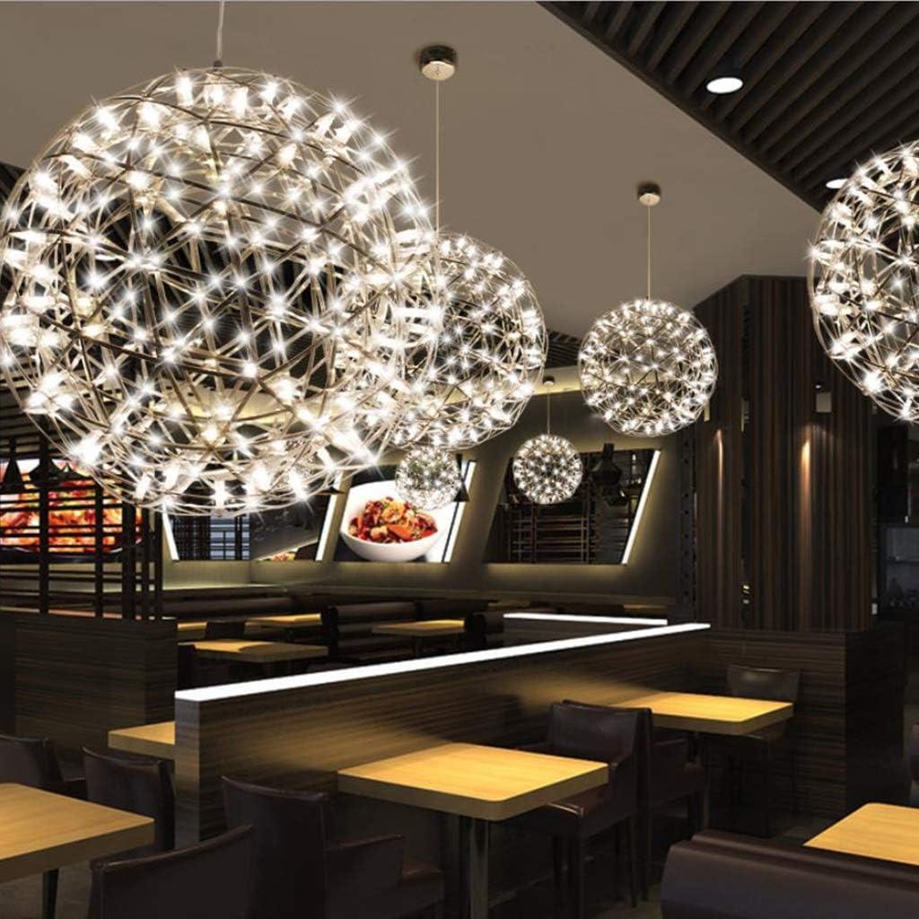 Lustres au plafond Color : Warm Light-40cm Salon Chambre Lh/ôtel Chandeliers /Éclairage LED Feux dartifice Spark boule plafond Suspension Fixture Suspension Luminaire,salon Lustre Plafonniers