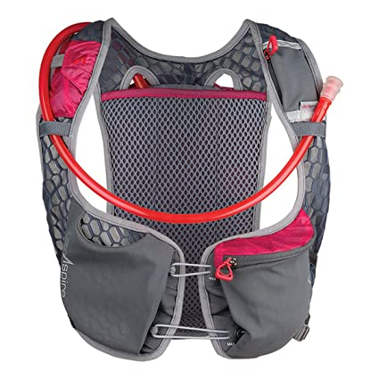 Ultraspire Astral Running & Race Hydration Vest with 2L Bladder, Pinnacle Pink (One Size