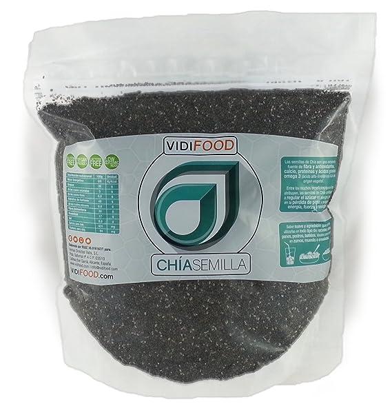 Semillas de Chía Naturales - 1 kg - Alta Calidad - Fuente Rica de Omega-