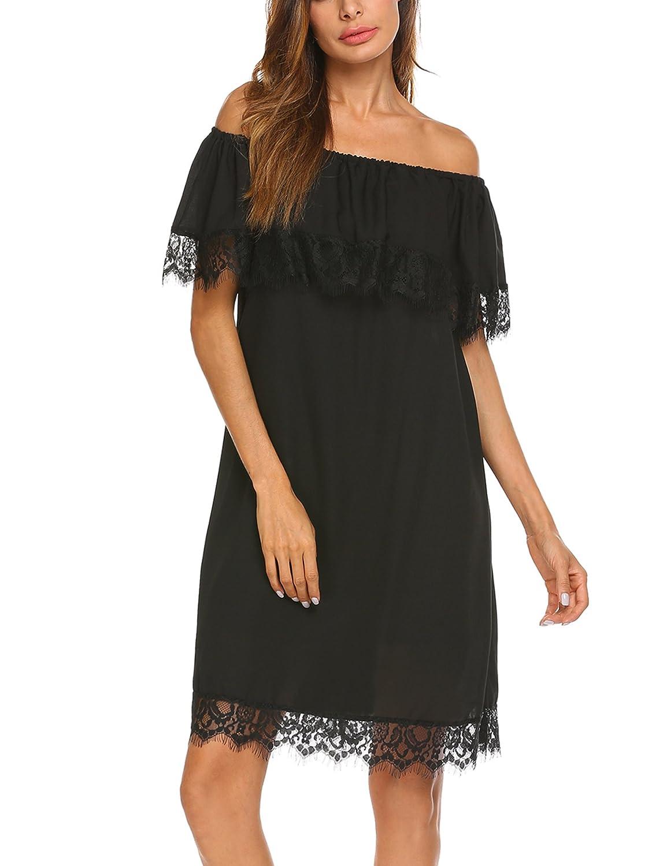 5b3df73f29 Top 10 wholesale Slash Neck Shift Dress - Chinabrands.com