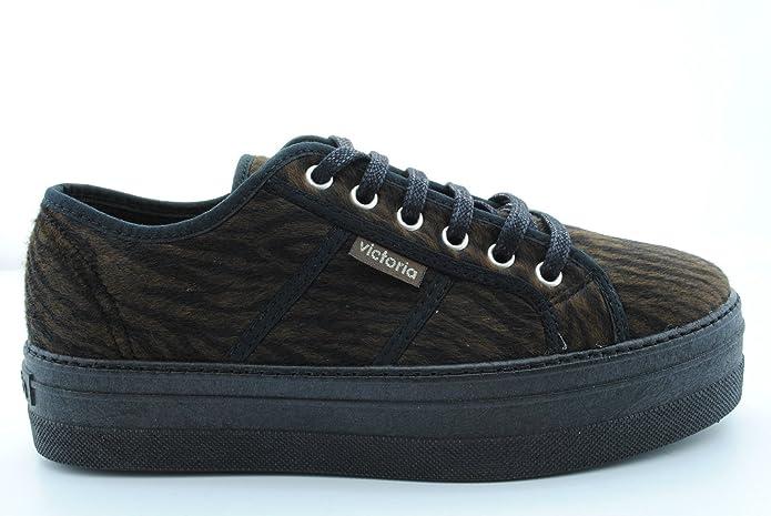 victoria 09228NEG, Damen Sneaker Schwarz Schwarz, Marron - Braun - Größe:  37: Amazon.de: Schuhe & Handtaschen