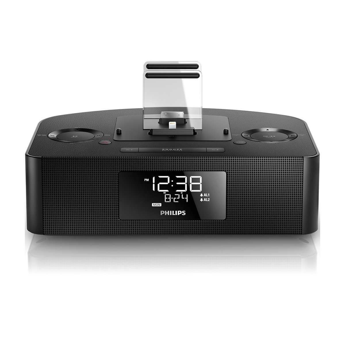 Philips AJ7260D/37 - Radio (Reloj, FM, 87,5-108 MHz, 8 W, LCD, Blanco): Amazon.es: Electrónica