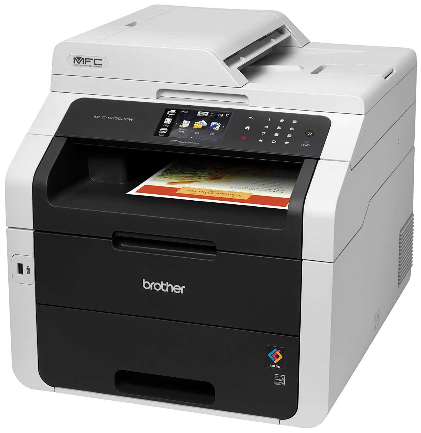 Amazon Com Brother Mfc L3750cdw All In One Color Laser Printer