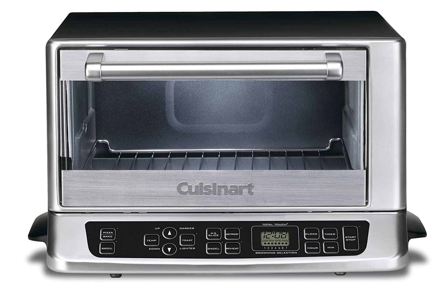 Amazon.com: Cuisinart TOB-155 Toaster Oven Broiler, Stainless ...