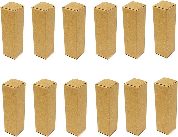 Amazon.com: Honbay 50 cajas de papel de embalaje rectangulares de lápiz labial de papel kraft regalo cajas de comestibles para almacenamiento de tubos de maquillaje: Health & Personal Care