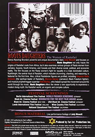 Amazon.com: Roots Daughters: The Women of Rastafari: Roots Daughters-Women of Rastafari: Movies & TV