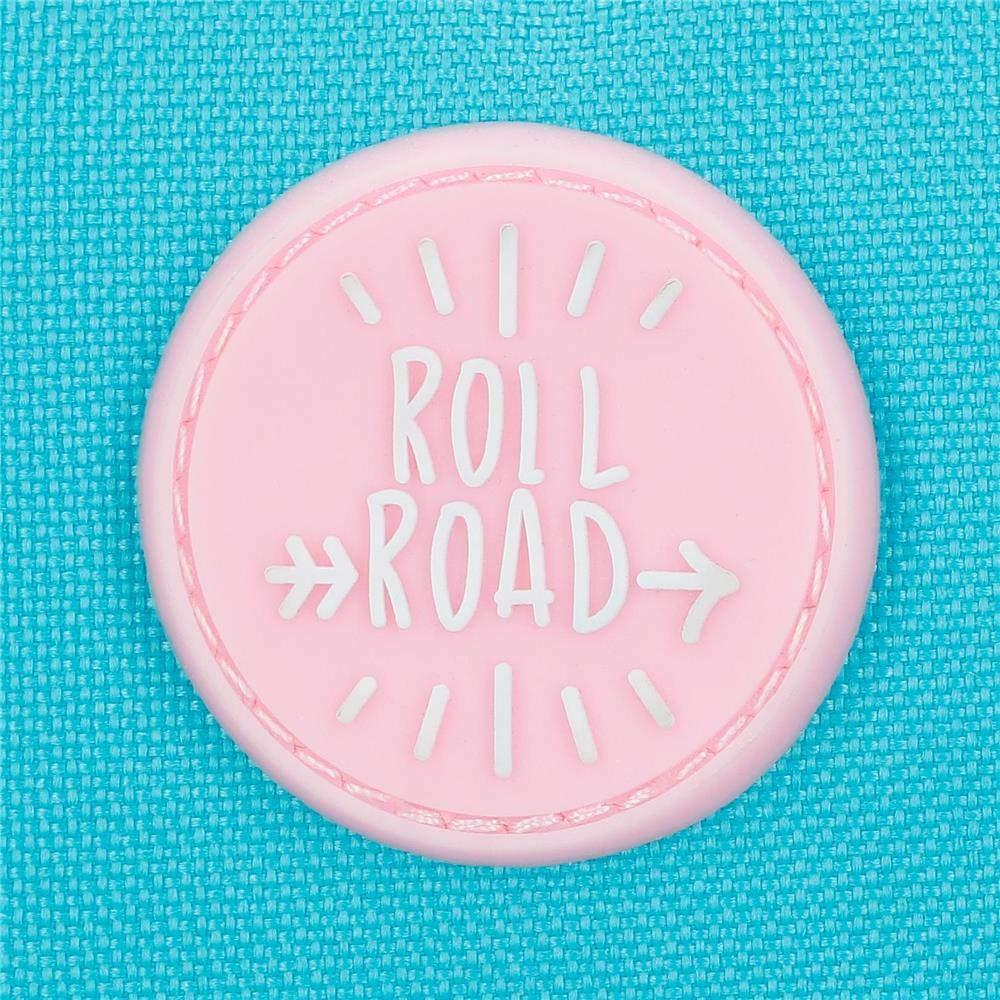 Roll Road Happy Neceser de Viaje, 26 cm, 4.58 Litros, Azul 4324462