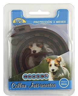 BPS® Collar Antiparasitario para Mascotas Perros / Gatos Antipulgas y Garrapatas Protección 3 Meses BPS