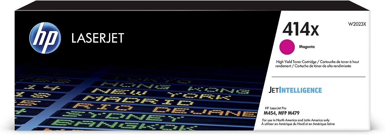 HP 414X | W2023X | Toner Cartridge | Magenta | High Yield