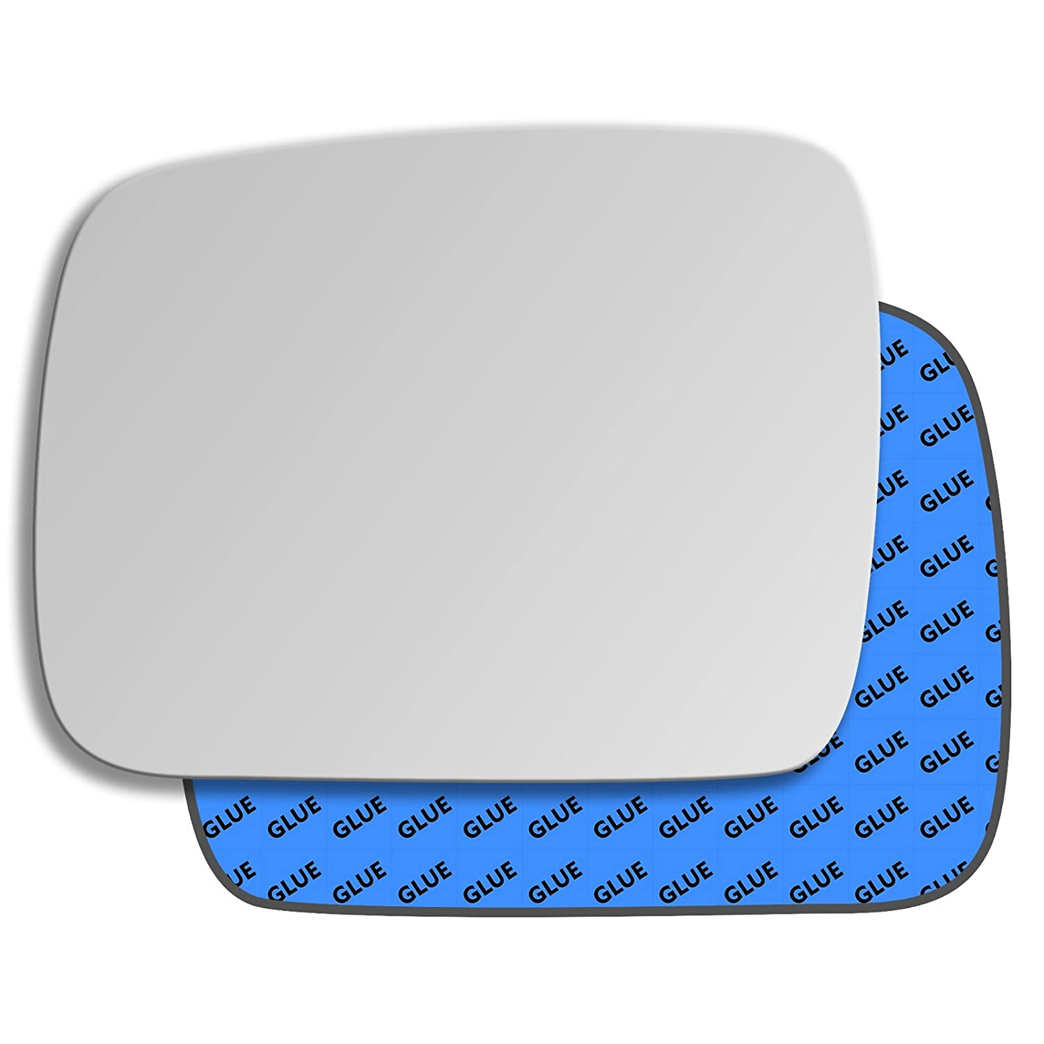 Hightecpl 792LS Left Passenger Side Convex Door Wing Mirror Glass Channel Autoparts Limited