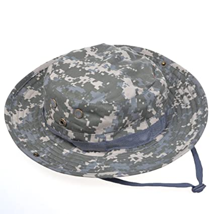 3b1e7625fa AENMIL Comfortable Tactical Head Wear Boonie Jungle Hat Cap For Wargame  Sports Hunting Fishing Outdoor Activities
