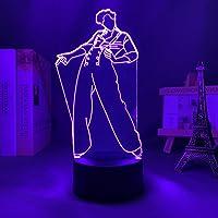 3D nachtlampje Harry Styles lamp cadeau voor fans slaapkamer decor licht LED touch sensor kleur verandering werk bureau…